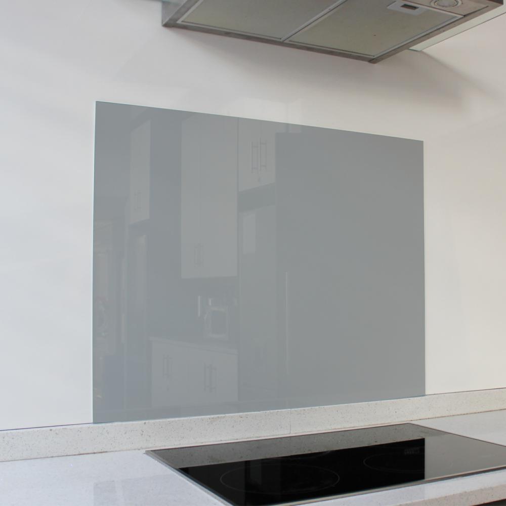 Cool Grey Hob Glass Splashback (898 x 700 x 6mm)
