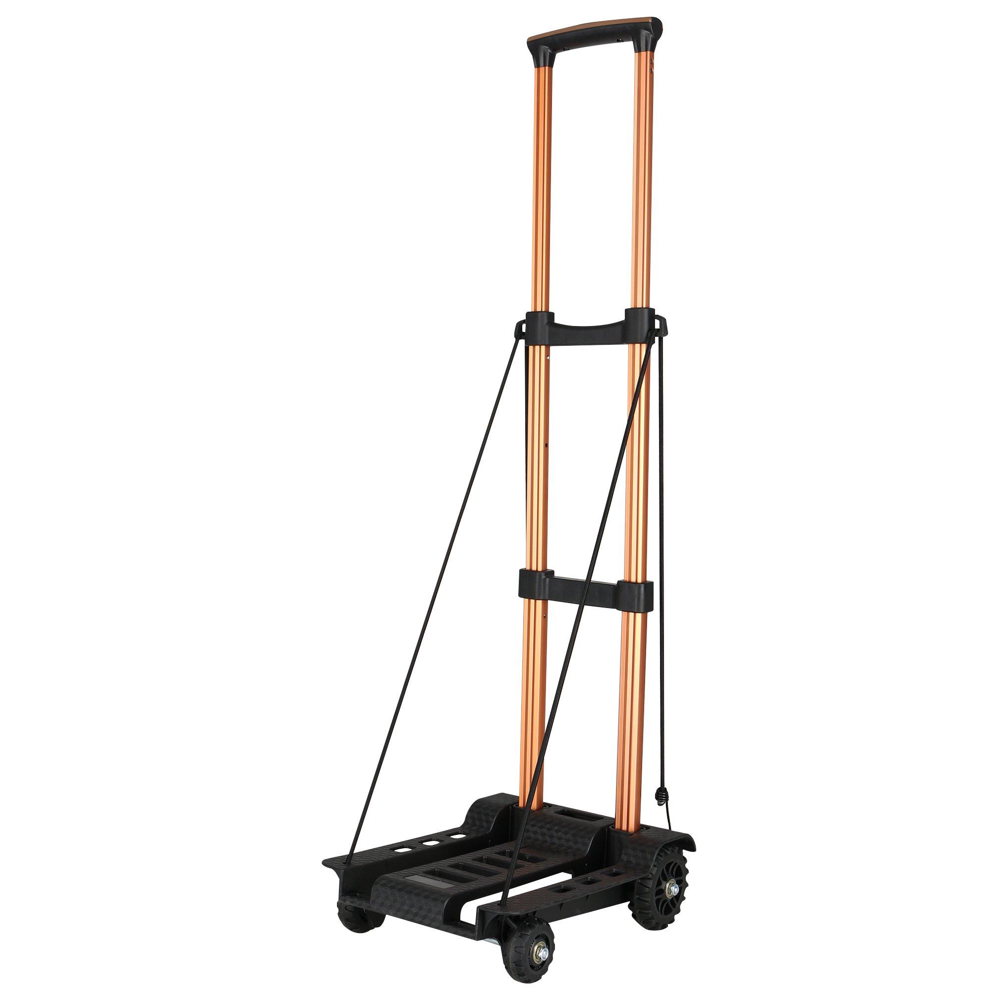 Foldable Luggage Cart Trolley