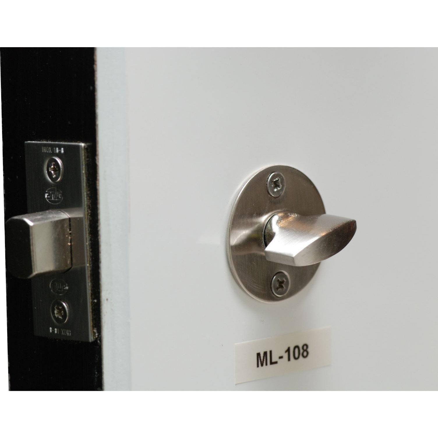 One sided deadbolt with knob