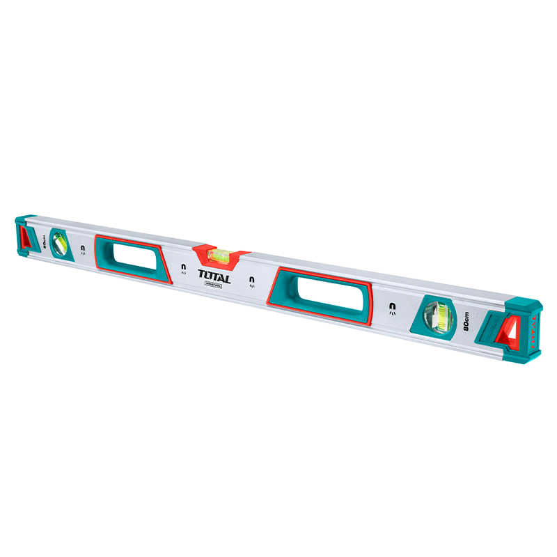 Total Tools Spirit Level (With Powerful Magnets) 80cm Industrial