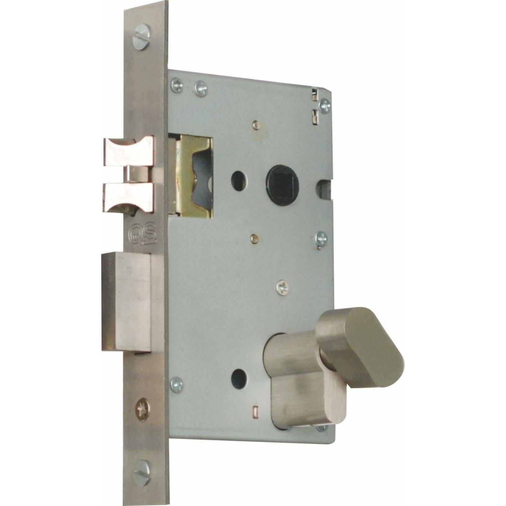 Professional cylinder mortise lock (lock body only)
