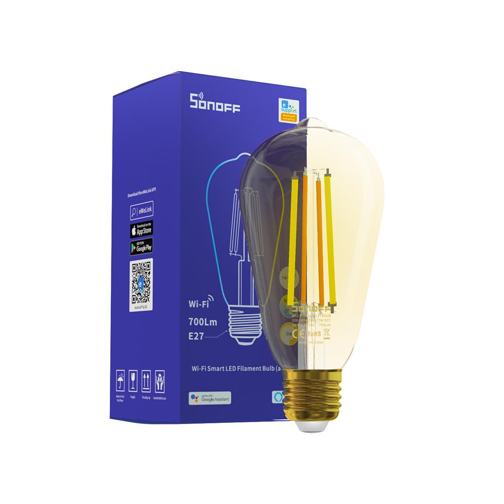 SONOFF SMART WI-FI LED FILAMENT BULB (B02-F-ST64)