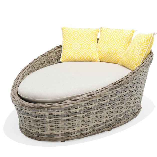 MON exteriors Mili Day Bed Taupe