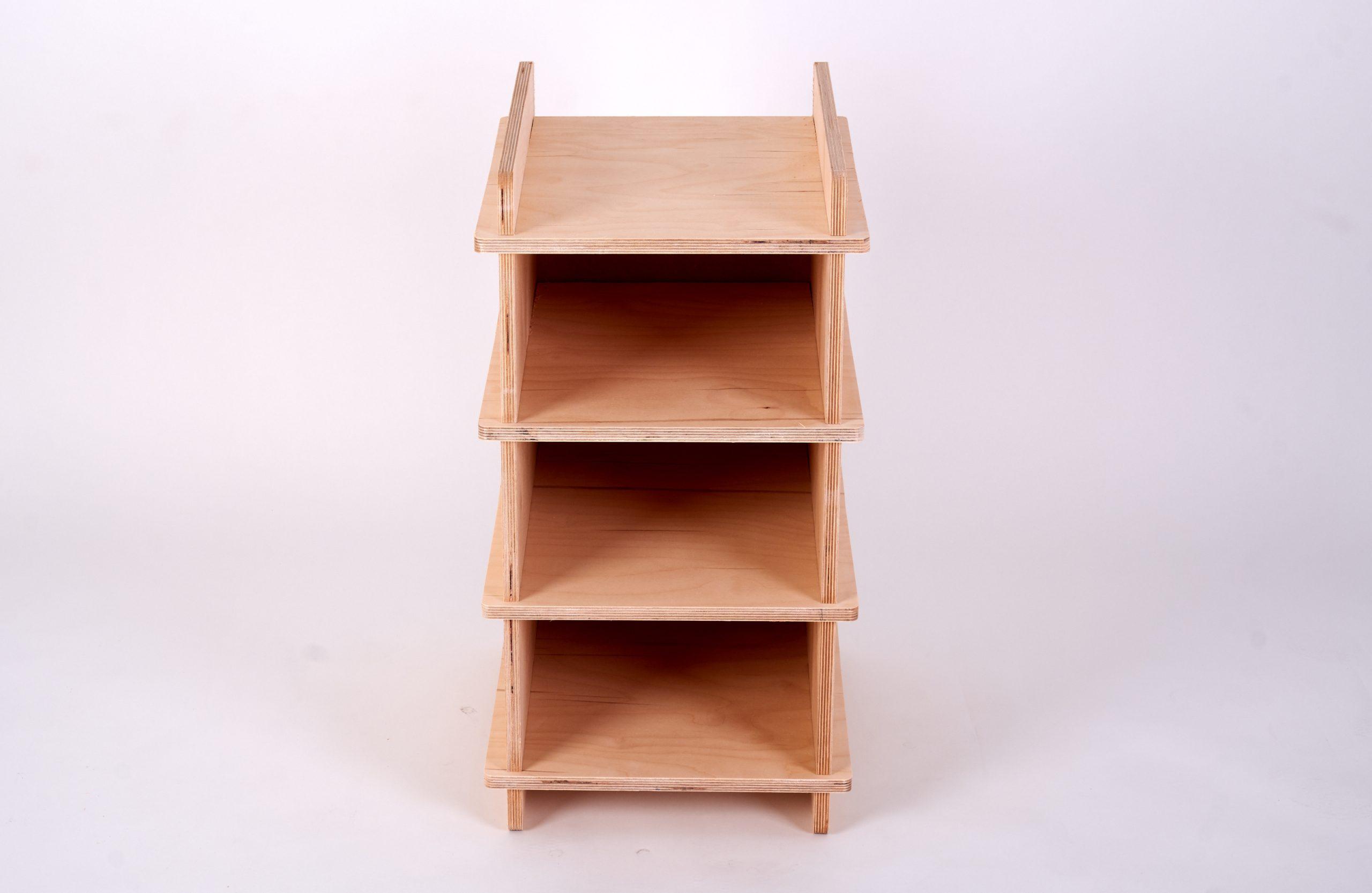 Organising Shelf Birch