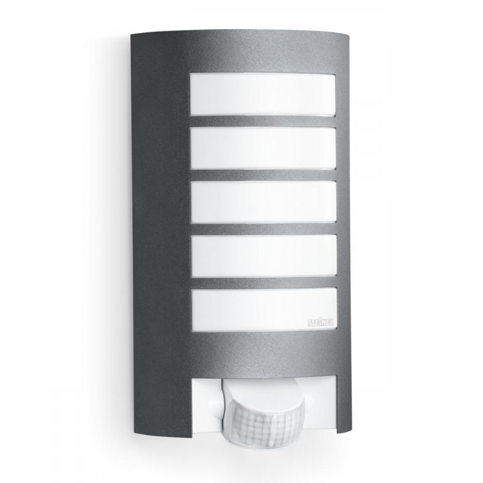 German Quality _ Steinel _ L 12 _  Anthracite _ Wall Mount Light _ Sensor Light _ Outdoor Light