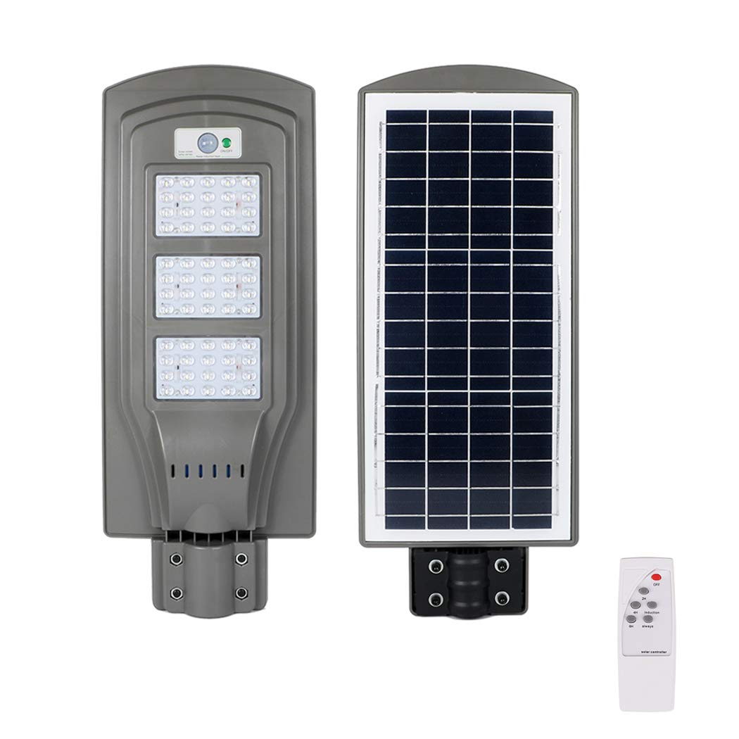 Solar Street Light 60W and Mounting Pole