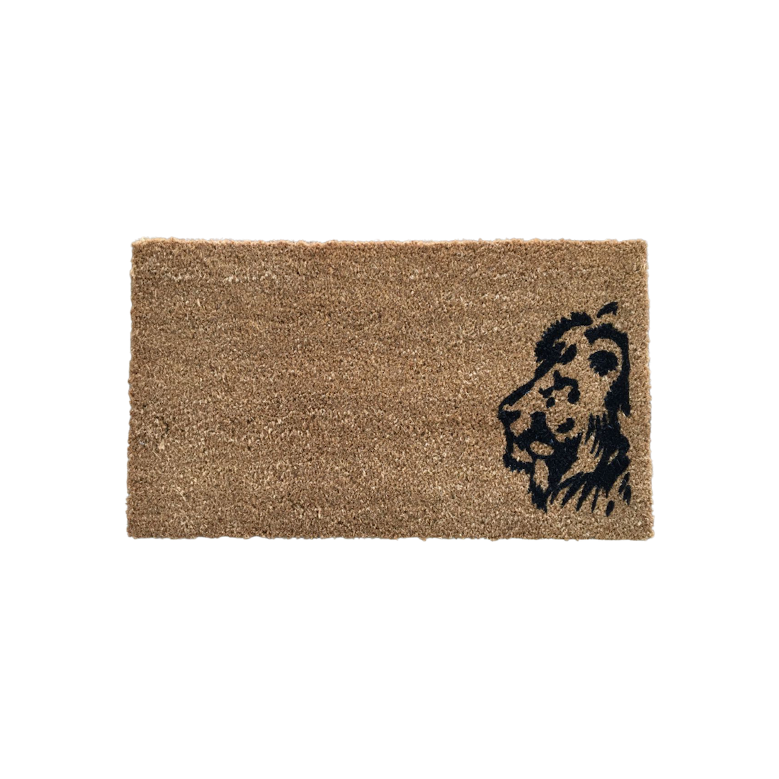 Matnifique Coir Doormat - Lion Design 700 x 400 x 14mm
