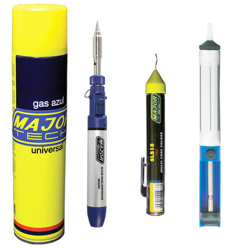 Gas Soldering Iron Kit (MTC7) - Major Tech