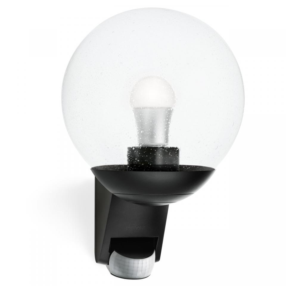 German Quality _ Steinel _ L 585 S _ Black_ Wall Mount Light _ Sensor Light _ Outdoor Light