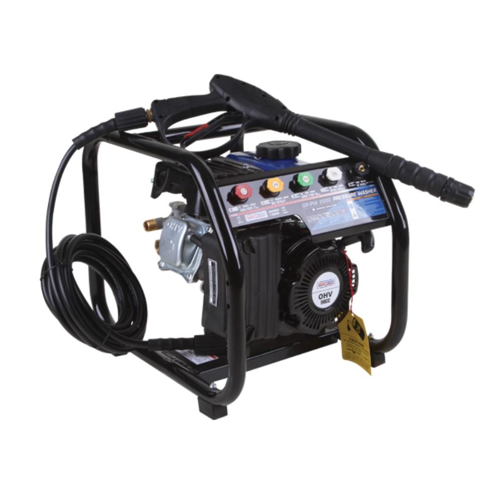 2000PSI Gasoline High Pressure Washer