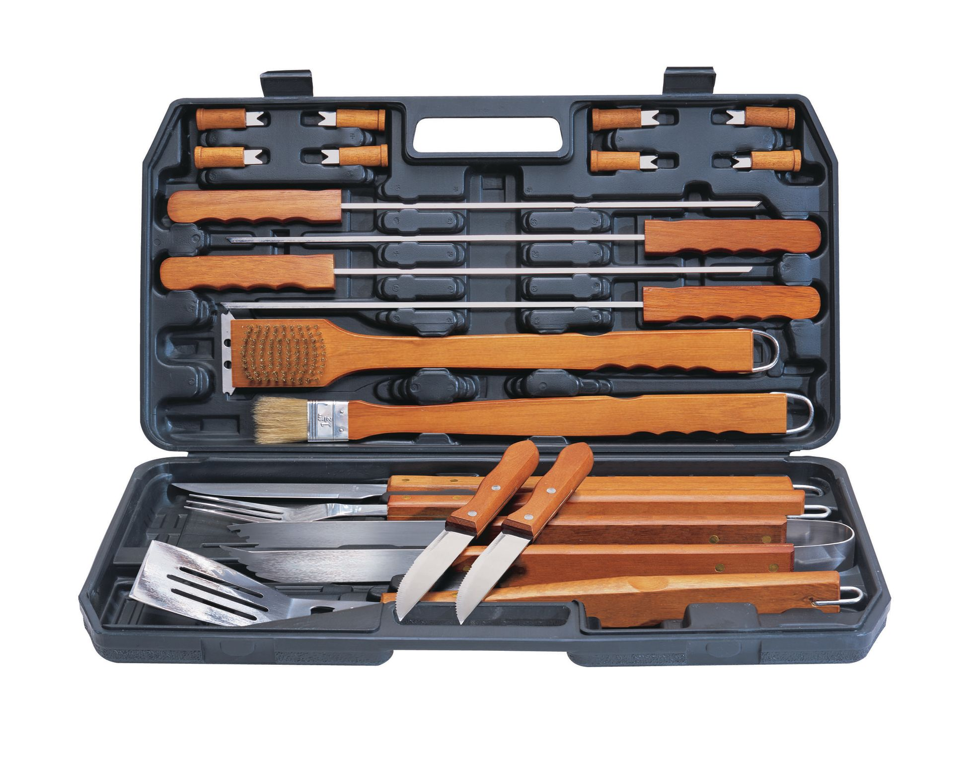 21Pc Deluxe Wood Tool Set
