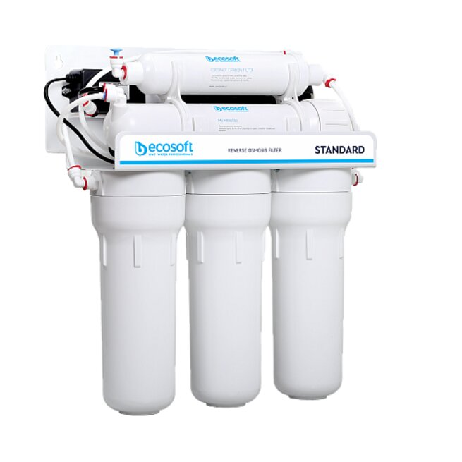 Ecosoft Standard Reverse Osmosis System 5 Stage - 50GPD