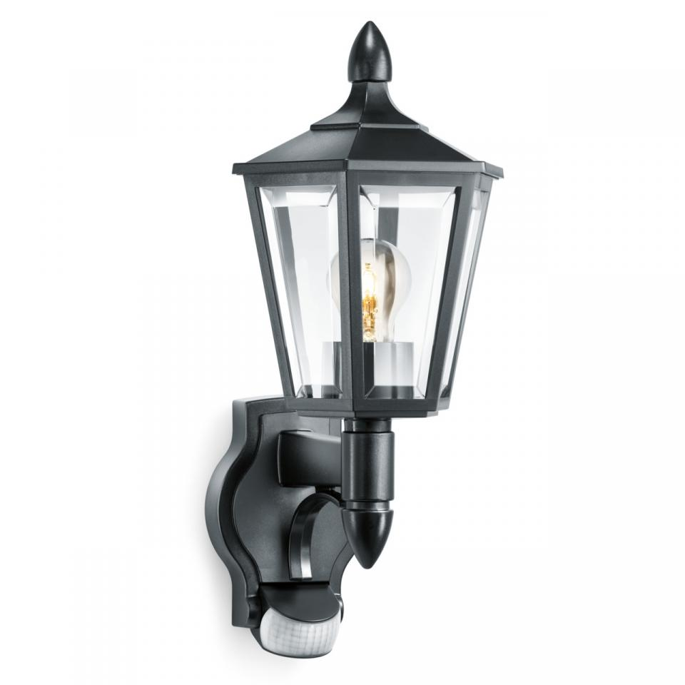German Quality _ Steinel L 15 Black_ Wall Mount Light _ Sensor Light _ Outdoor Light