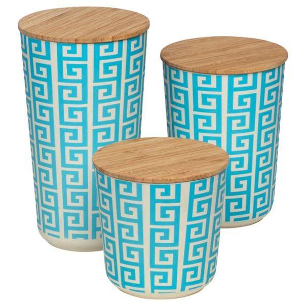 Wenko – 3Pc Edge Airtight Storage Jar Value Bundle