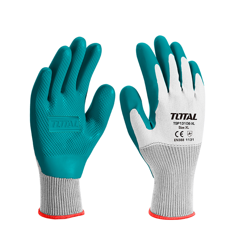 Total Tools 5 Pairs Latex gloves