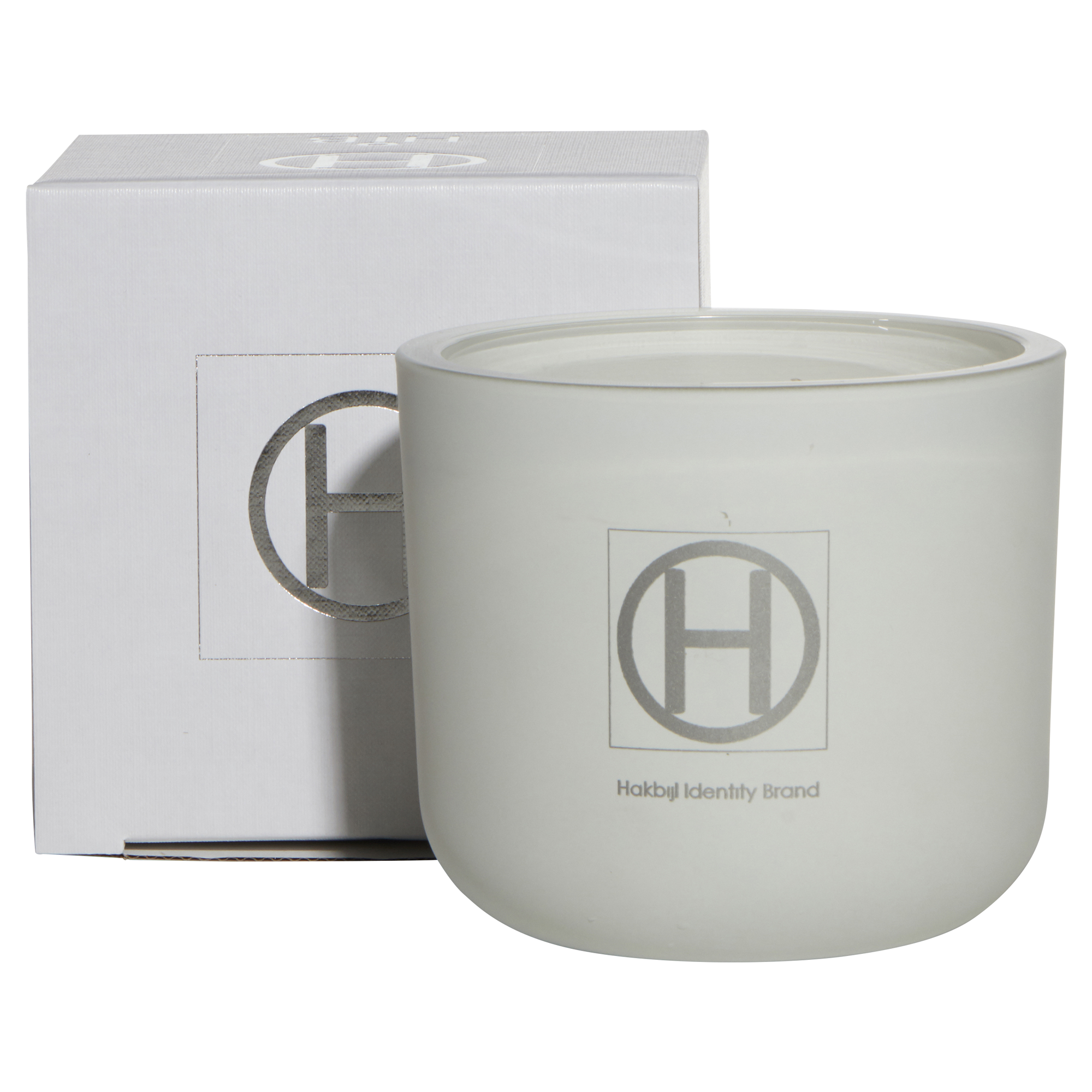 HiB Scented Cande - Matte White - Ghost - D12,5