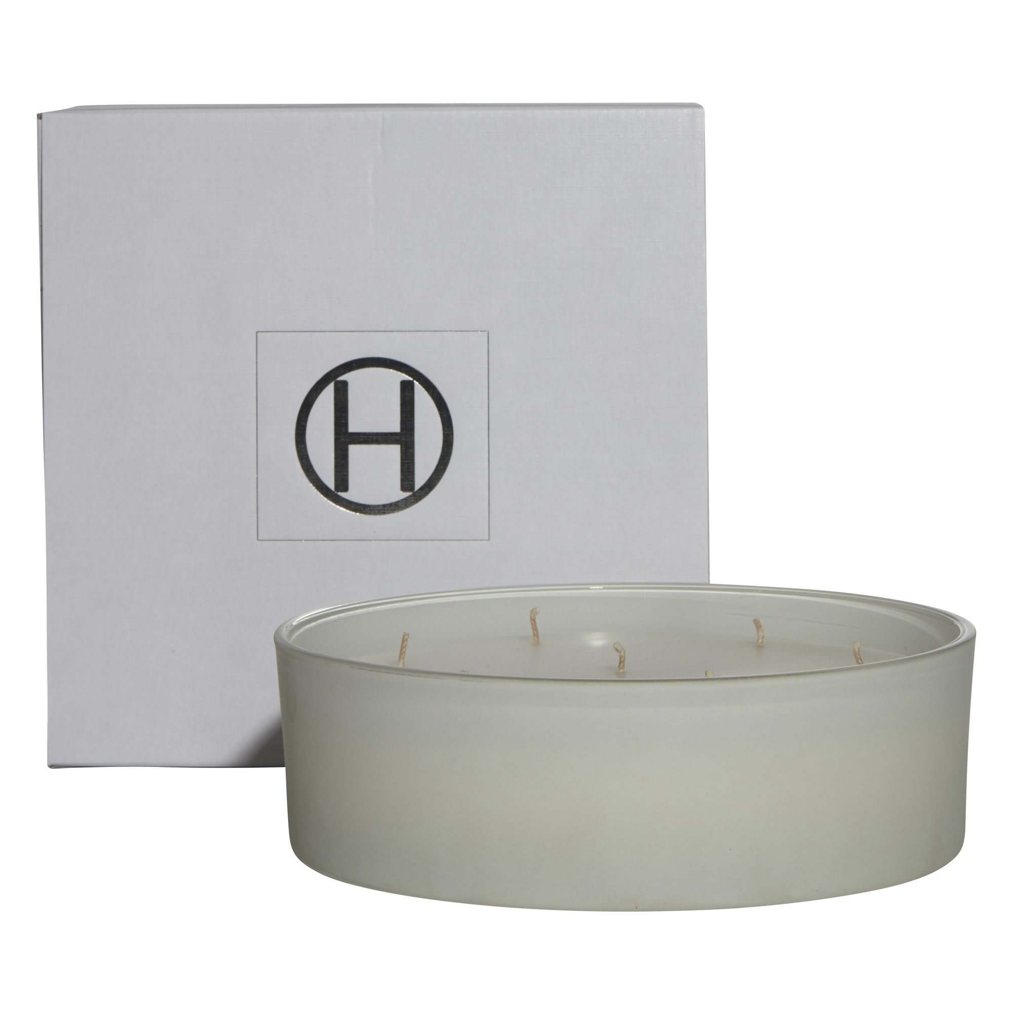 HiB Scented Candle - Matte White - Ghost - D25