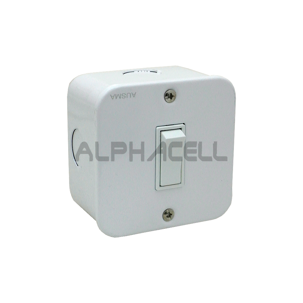 SWITCH INDUSTRIAL - 1 LEVER(white)