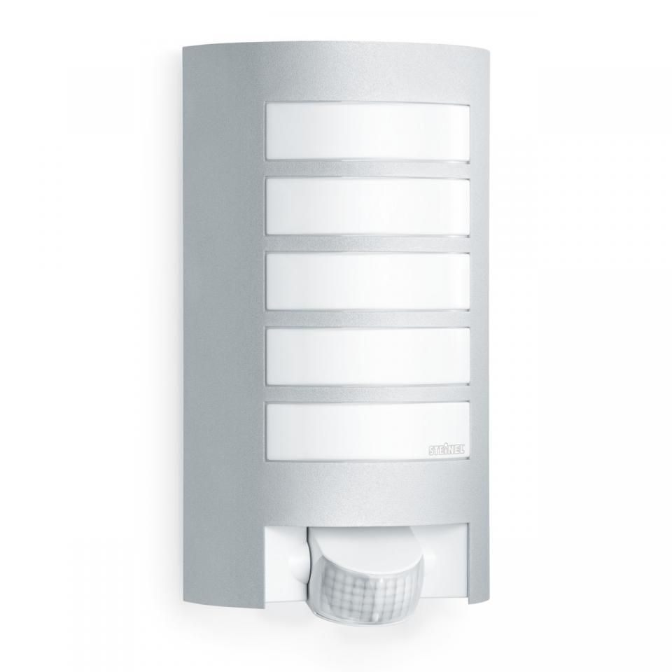 German Quality _ Steinel L 12 Silver _ Wall Mount Light _ Sensor Light _ Outdoor Light