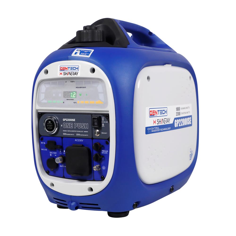 Gentech Power 2.2kVA Pure Sine Wave Digital Inverter Generator Electric Start
