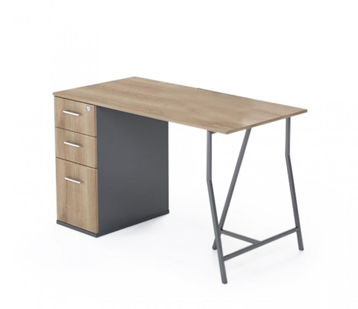 Payton Desk - Fixed Cabinet