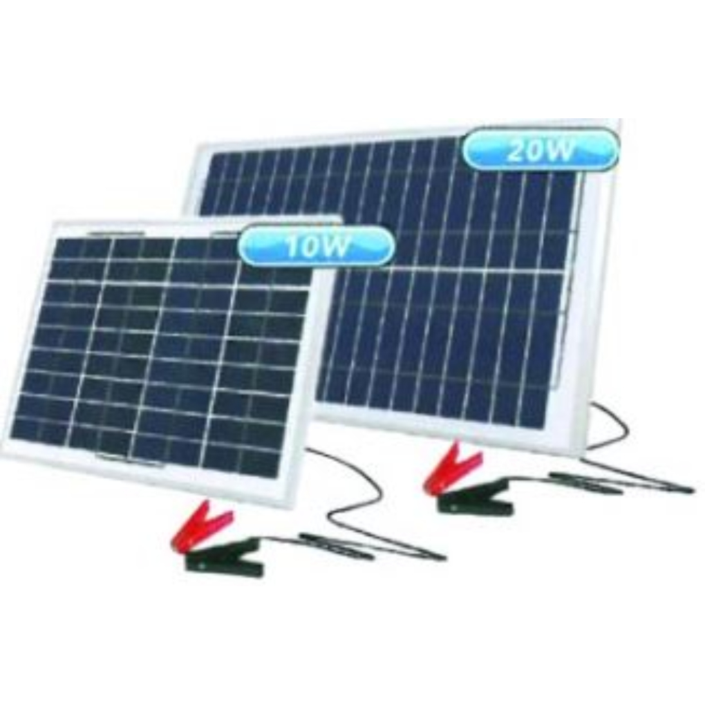 12V 10W Portable Solar Charger
