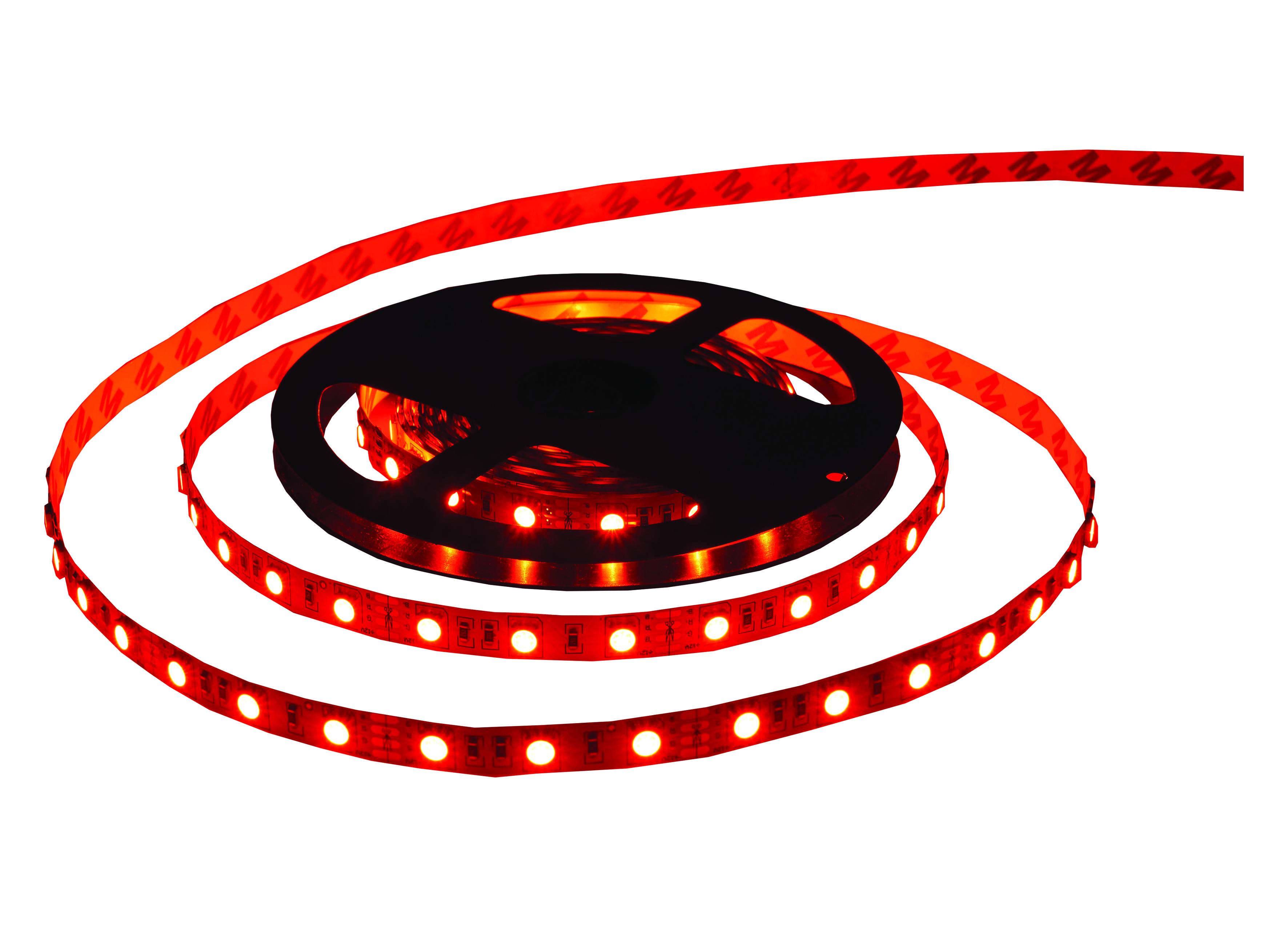 IP20 Red Decorative Cabin Strip Lighting (MS760-24DR5R) - VETi