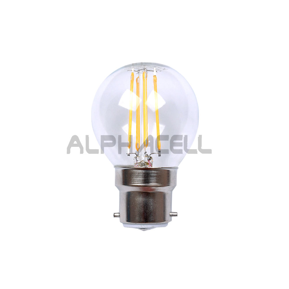 B22 Golf Ball(G45) 4w COOLWHITE Filament - KRILUX