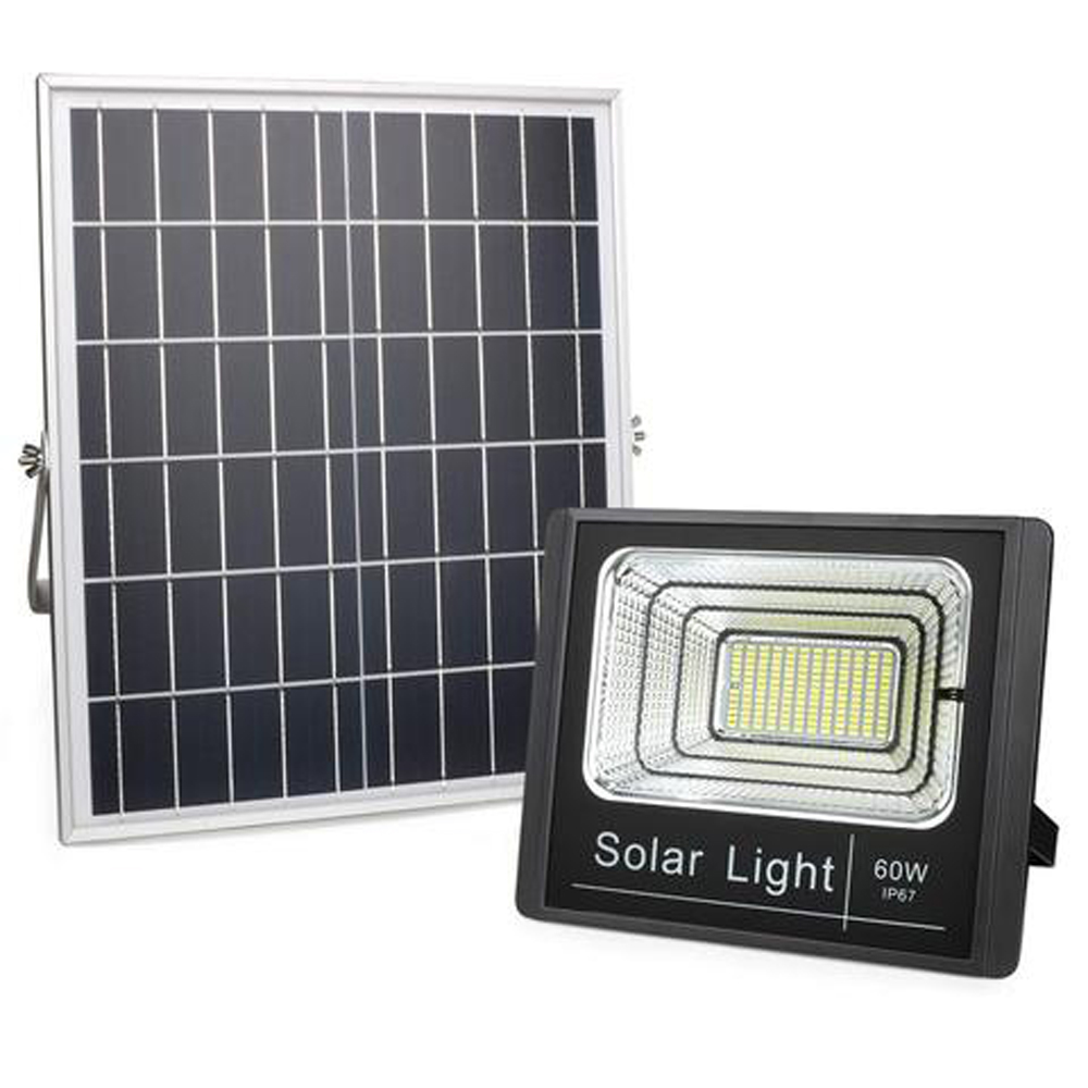 SQI. 60W LED Solar Floodlight Waterproof