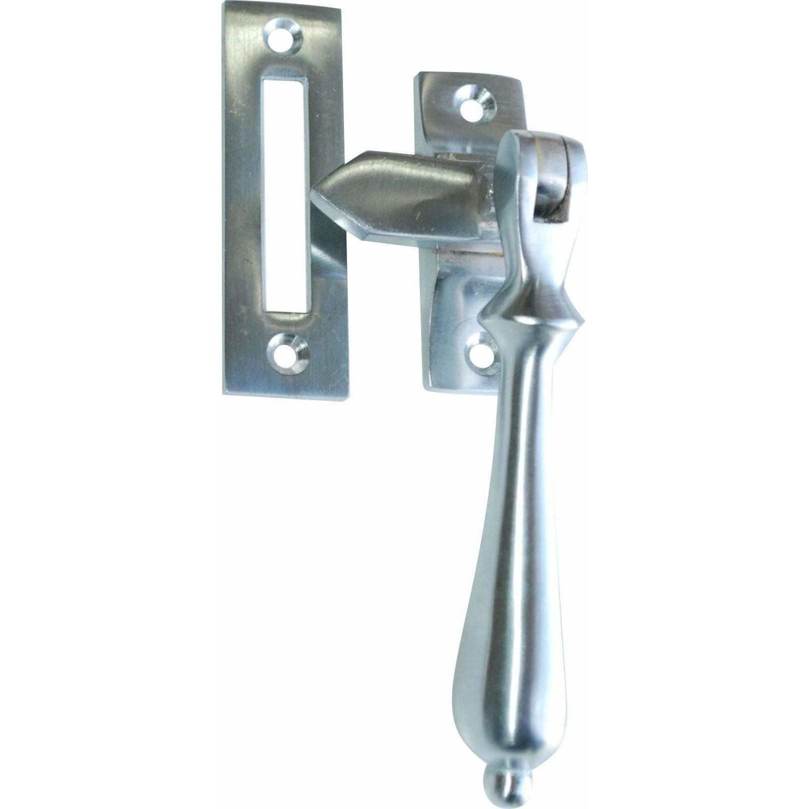 Tear drop shaped window handle
