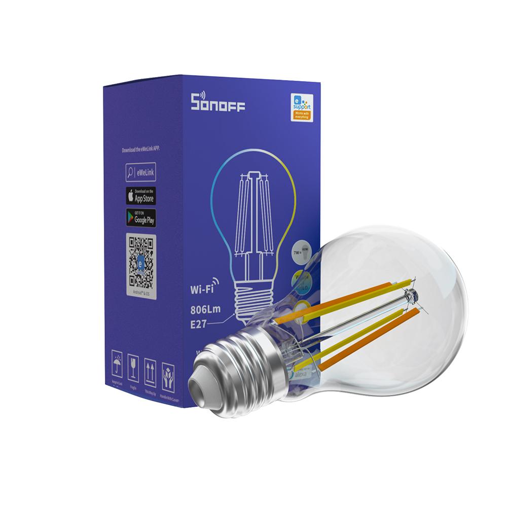 SONOFF SMART WI-FI LED FILAMENT BULB (B02-F-A60)
