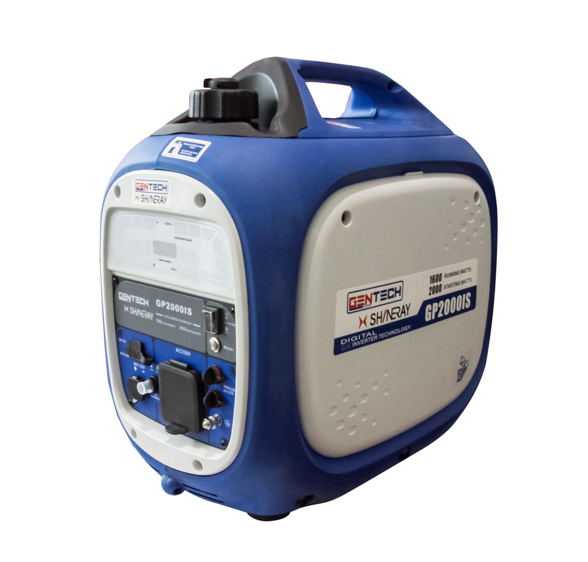 2KVA Pure Sinewave Recoil Start Inverter Generator