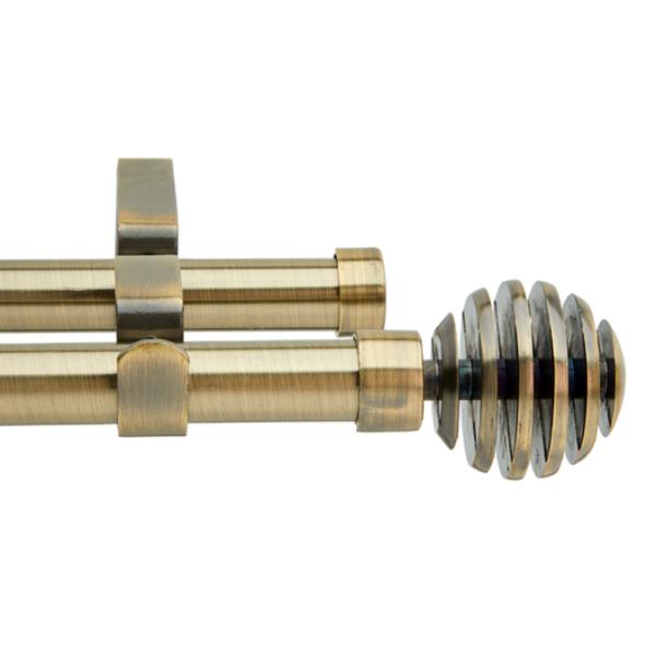 16-19 mm Exp Dbl StlRod Spiral Fin B/Brz 1.2m-2.1m
