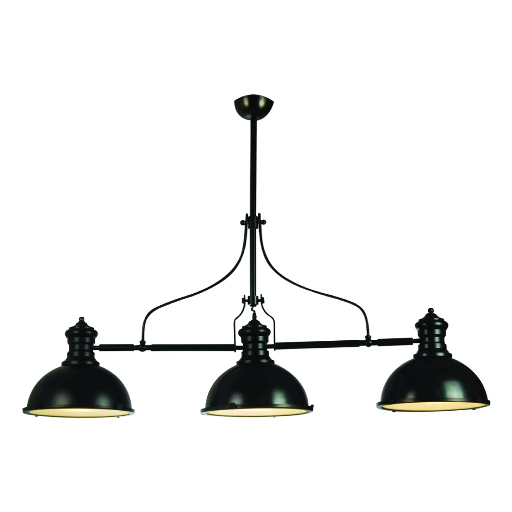 Classic Pendant Light - Black and Gold