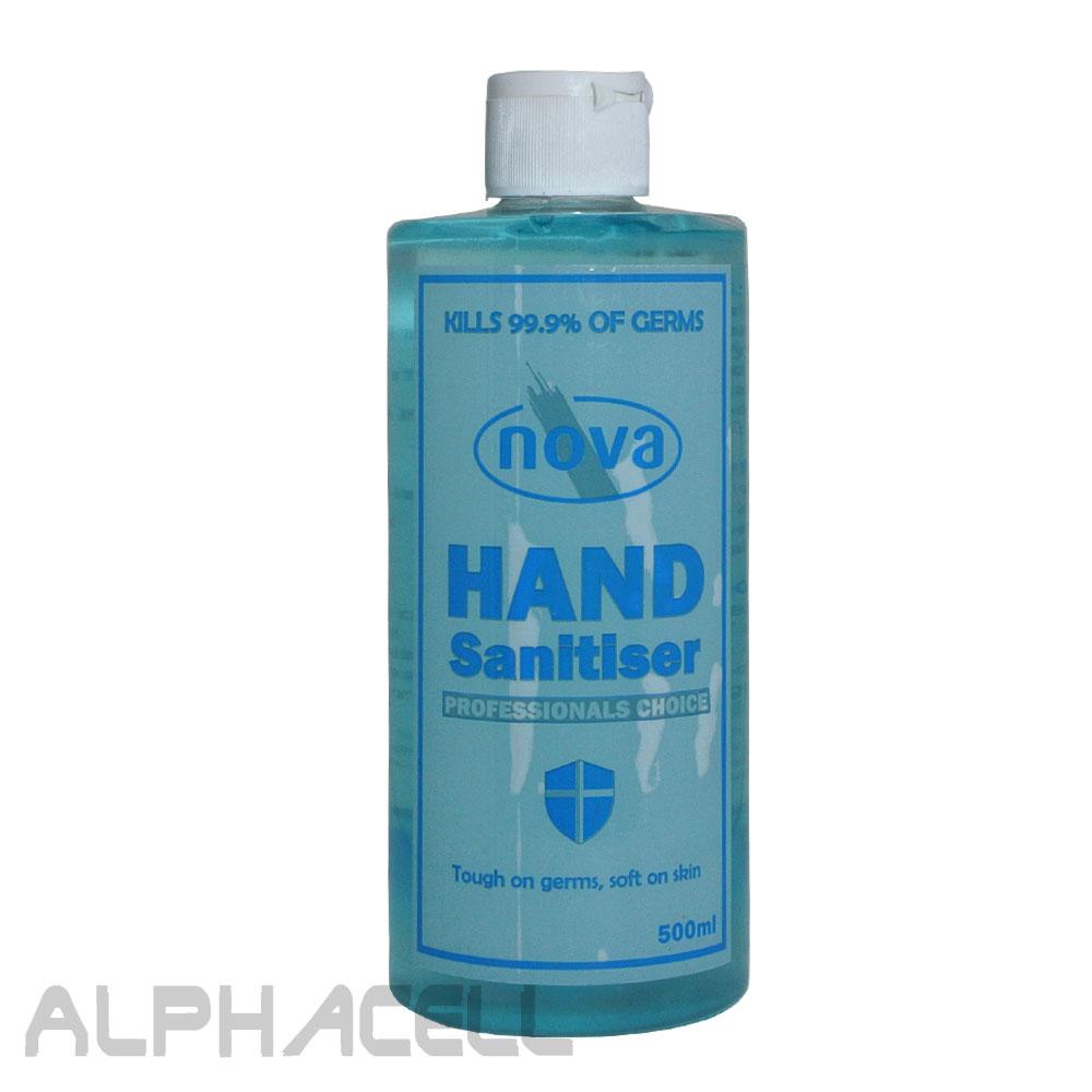 HAND SANITIZER NOVA - 500ML GEL 70%