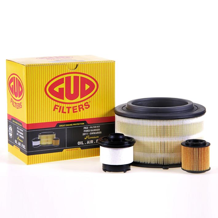 Filter Service Kit - Ford Ranger, Mazda BT50 2.2 Tdci, 3.2 Tdci (GUD)